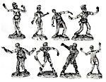 Zombies miniaturas rpg